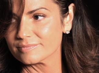 Brazilian ex supermodel Luiza Brunet pre