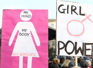 Black Protest For Pro-Abortion And Women's Rights At Sejm