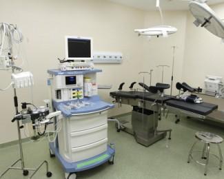 Hospital da Mulher, equipamentos carro de anestesia Fotos: Pedro Moraes/GOVBA