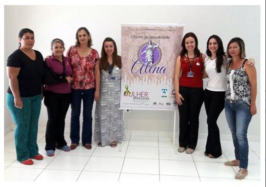 Mulher Brasileira: Projeto Atena promove oficina para vítimas de violência