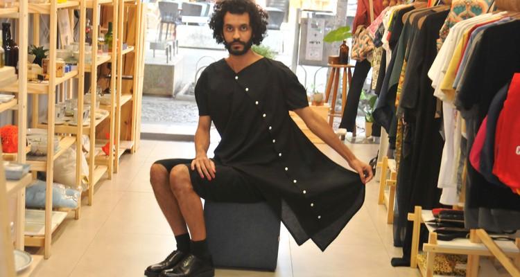 Moda Vestuario / Marcas investem no conceito sem genero - marca A Joao, do designar Joao Paulo