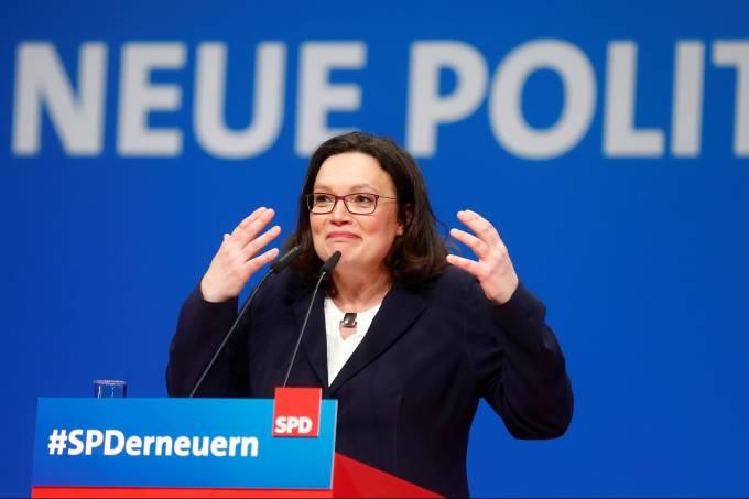 Partido mais antigo da Alemanha elege primeira líder mulher