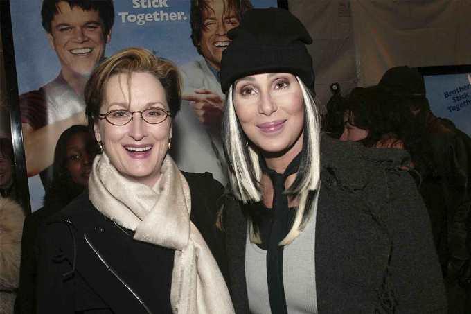 Cher e Meryl Streep evitaram que uma mulher fosse atacada
