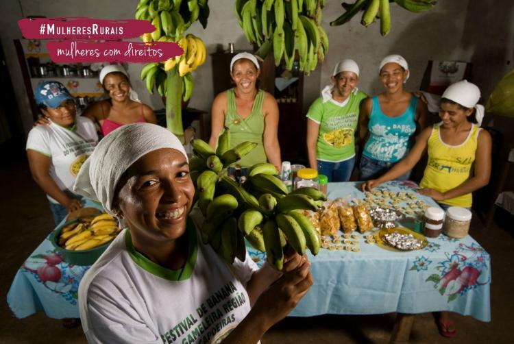 FAO realiza concurso de receitas e negócios sustentáveis para mulheres rurais