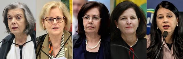 Com Rosa Weber no TSE, mulheres assumem pela primeira vez comando da maioria dos tribunais superiores