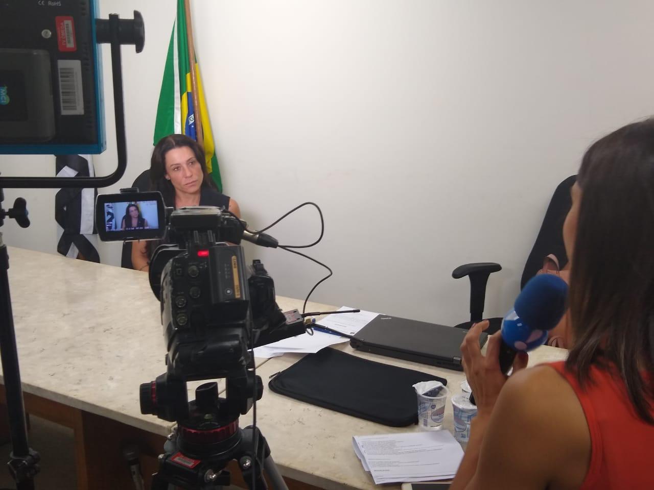 Entrevista para Rede TV